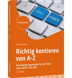 Richtig kontieren von A-Z - inkl. CD-ROM