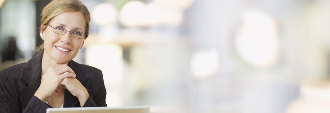 """""""Mit der Unternehmersoftware von Lexware erledige ich meine Büroarbeit schnell und komfortabel."""""""