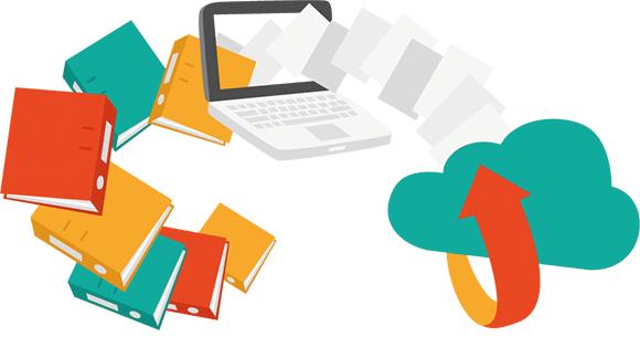 Papierablage ade: Sparen Sie Zeit und Geld mit dem digitalen Archiv