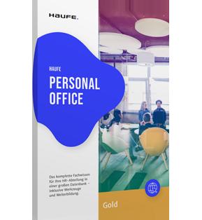 Haufe Personal Office Gold - Die HR-Software für allerhöchste Ansprüche