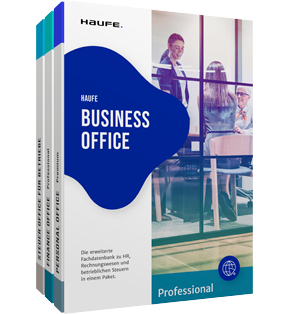 Haufe Business Office Professional - Ihre Premium-Fachdatenbank für Personal, Rechnungswesen und Steuern