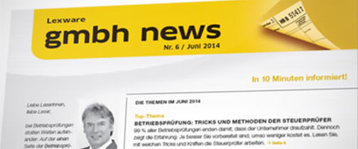 Zusätzliche Serviceleistungen für Ihre GmbH