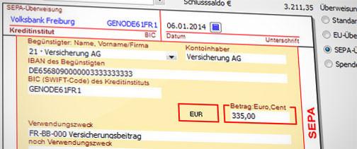 Komfortabler Zahlungsverkehr – inkl. Kassenbuch