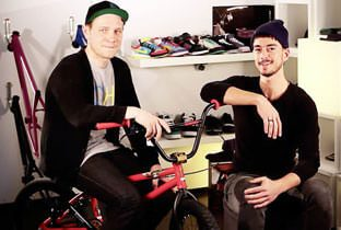 Daniel Kunstform, BMX Shop