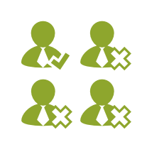 CRM Kundenmanagement Korrekt Inkorrekt